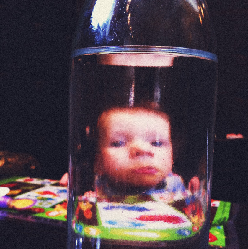 an awesome baby.