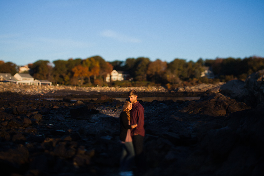 Maine Sunrise Engagement