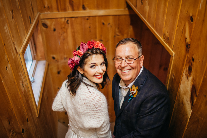 """how often do you get to walk down the aisle with your daughter twice!"""