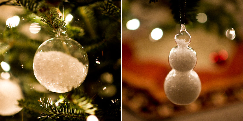 We love these ornaments from CB2!