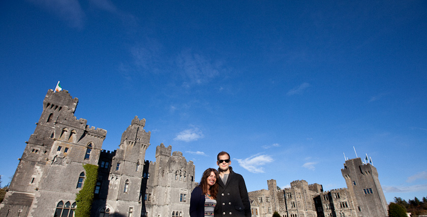 awww @ fake castle.