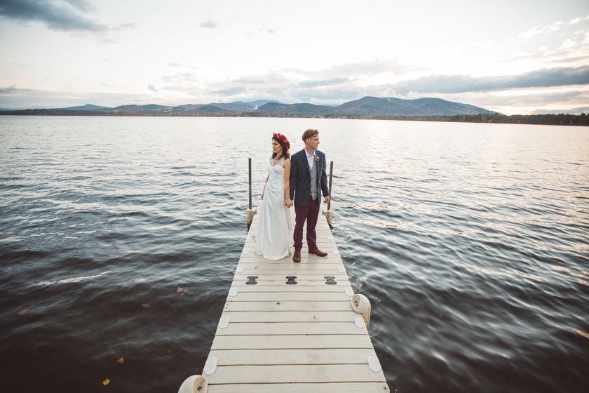 nh lake wedding